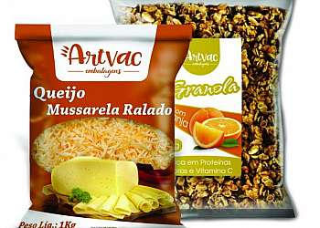 Embalagem para alimentos monocamada PE
