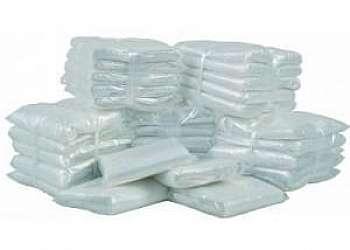 Embalagens plásticas transparentes