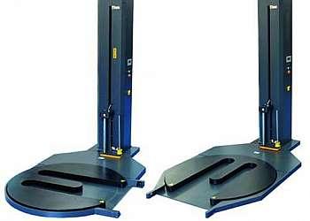 Máquina envolvedora automática para filme stretch