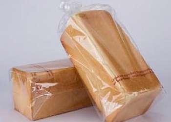 Saco plástico para pão de forma