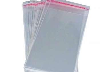 Saco plástico em polietileno